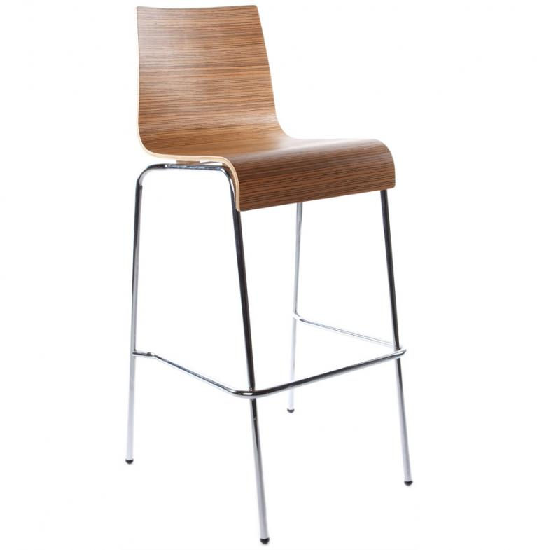 1 sgabello penisola o bar fisso in legno 4 colori ebay for Sgabelli bar legno