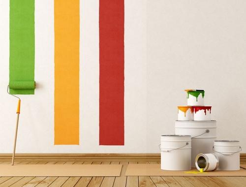 idee per arredare le pareti vernice schizzata : Come Arredare Le Pareti Di Casa Con I Quadri Pictures to pin on ...