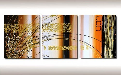 3 quadri moderni ibiscus fiore rosso e bianco for Quadri arte moderna astratti