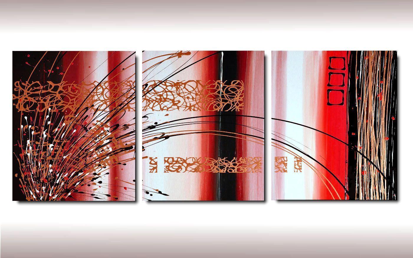 Quadri verticali 3 tele la scelta giusta variata sul for Tele quadri