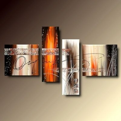 4 quadri arte moderna lava dipinti a mano su tela for Dipinti a mano su tela