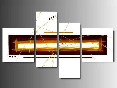 4 quadri arte moderna lava dipinti a mano su tela for Quadri arte moderna