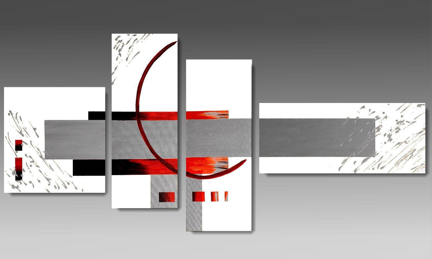 arredamento bianco e rosso ~ ispirazione di design interni - Arredamento Grigio E Rosso