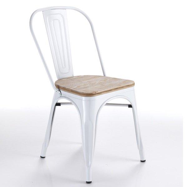 sedia moderna e tradizionale scolastica rossa