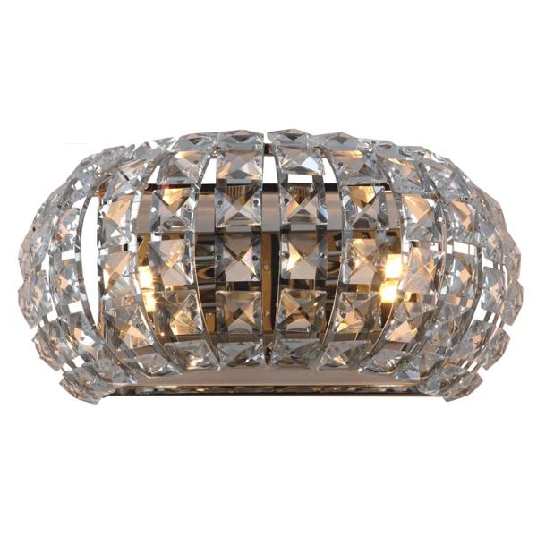 Applique lampada da muro strass in vetro for Applique muro