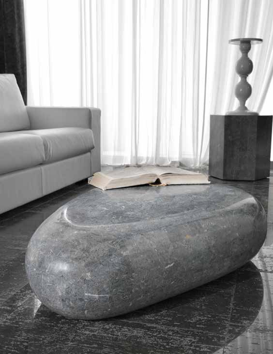Tavolino pietra fossile