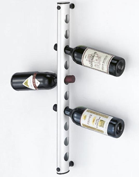 Cantinetta portabottiglie vino moderna da muro - Portabottiglie a muro ...