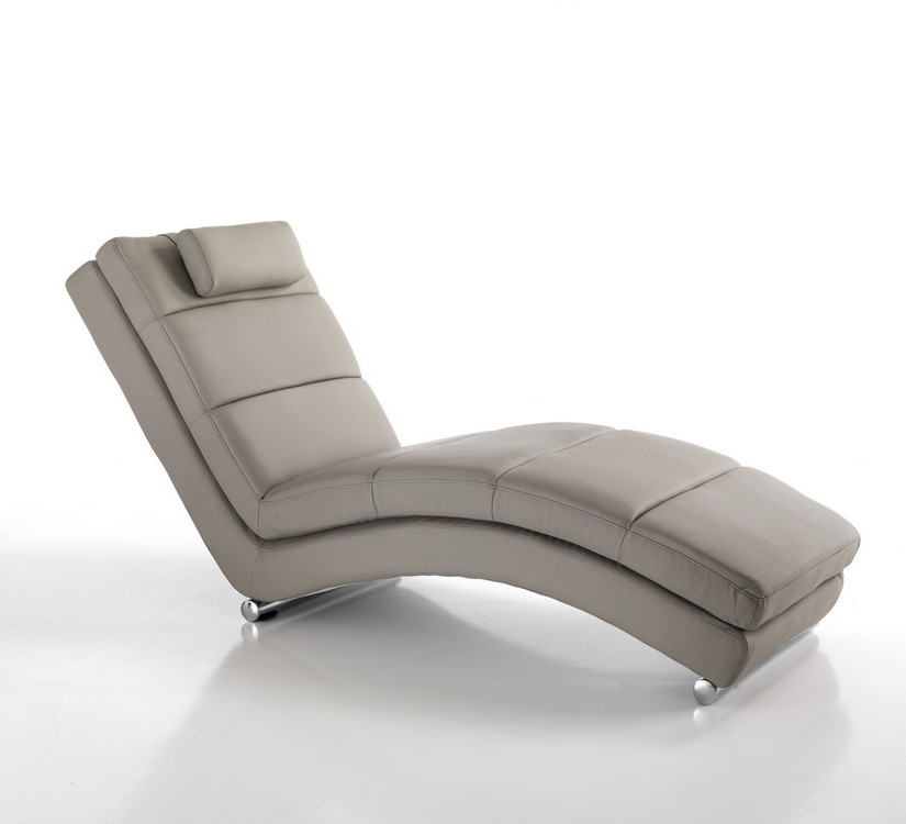 chaise longue dormeuse moderna tortora
