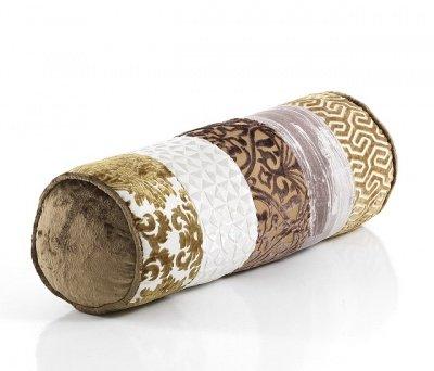 Cuscini Cilindrici.Cuscino D Arredo Roll Cilindrico Etnico