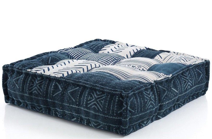 Cuscino da seduta per divano o poltrona patchwork - Cuscino per divano ...