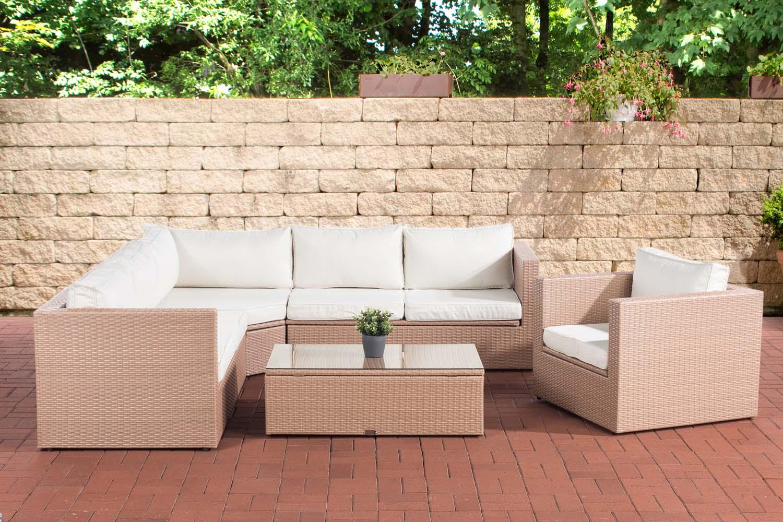 Cuscini Da Esterno Impermeabili divano angolare da esterno con cuscini poltrona tavolino e vani contenitore