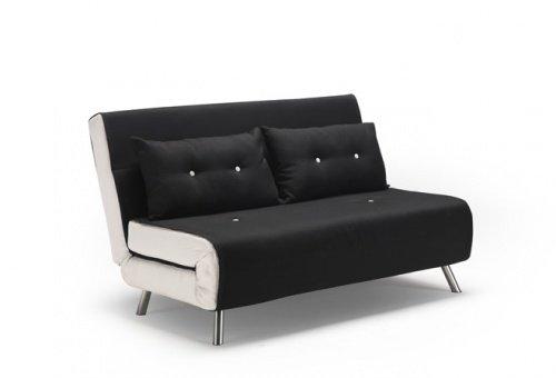 Divano letto piazza e mezza con 2 cuscini grigio - Divano letto francese ...