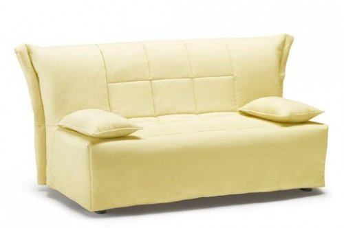 Divano beige colore cuscini cuscino in tessuto - Divano letto a poco prezzo ...