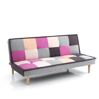 divano letto moderno con tessuto quadrettato. Black Bedroom Furniture Sets. Home Design Ideas