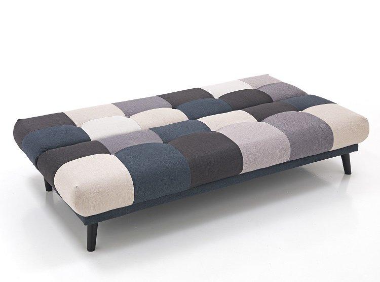 Divani letto patchwork outlet divani in lombardia outlet tappeti milano tappeto poltrona letto - Divano letto apertura a libro ...