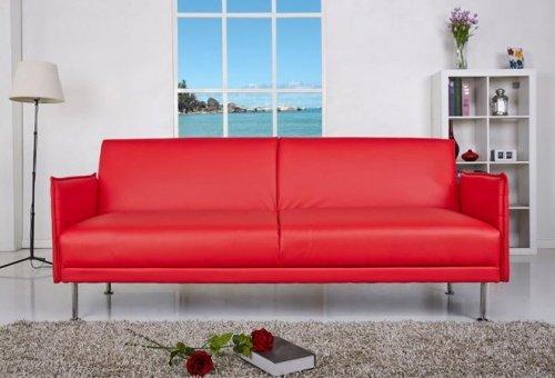 Divano Rosso Ecopelle : Divano rosso ecopelle ~ il miglior design di ispirazione e gli arredi