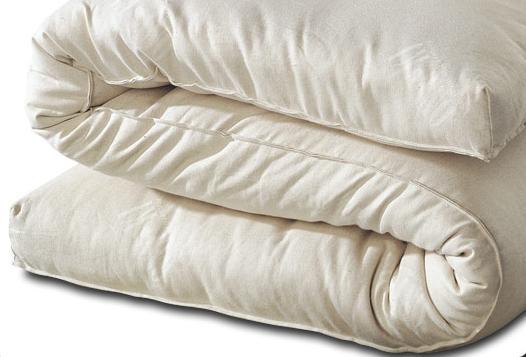 futon materasso letto giapponese puro cotone - Materasso X Divano Letto Matrimoniale