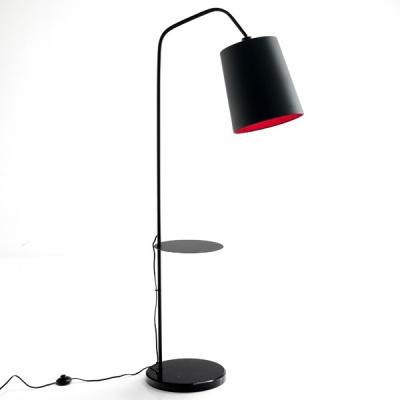 Lampada piantana da terra con tavolino for Repliche lampade design