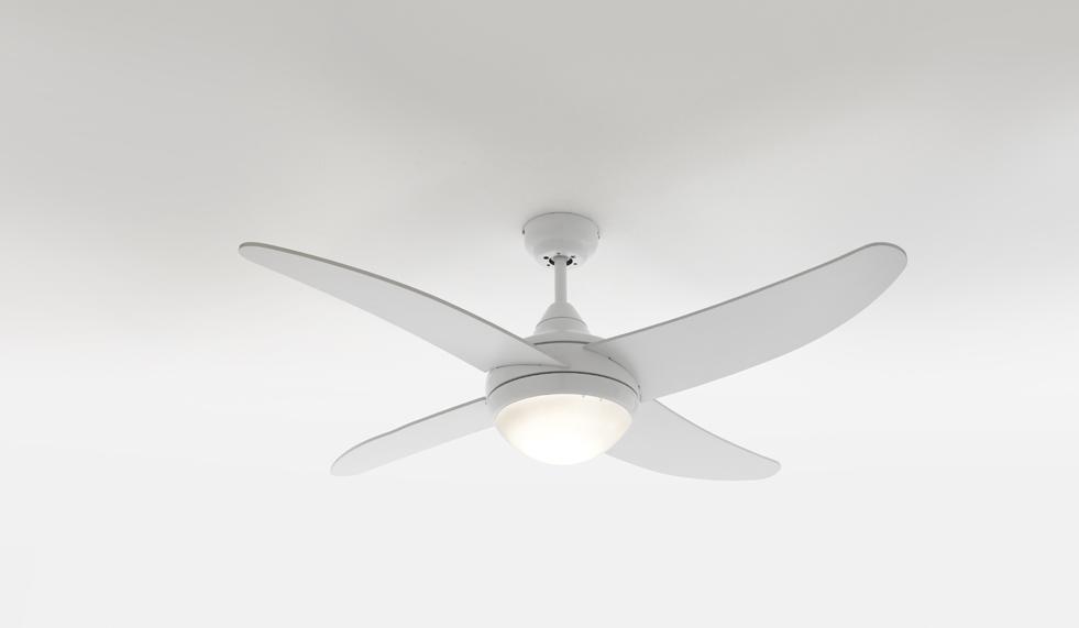 Lampadario ventilatore moderno con luce e pale ebay for Ikea lampadario ventilatore