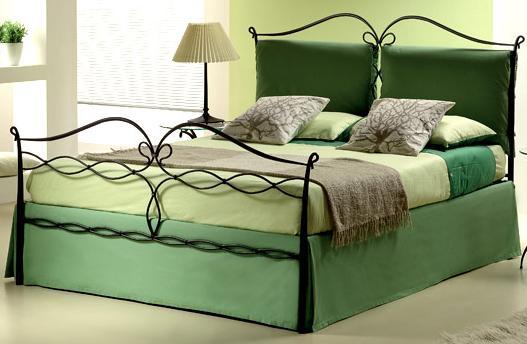 Testate letto in ferro battuto elegante - Testiera letto ferro battuto ...