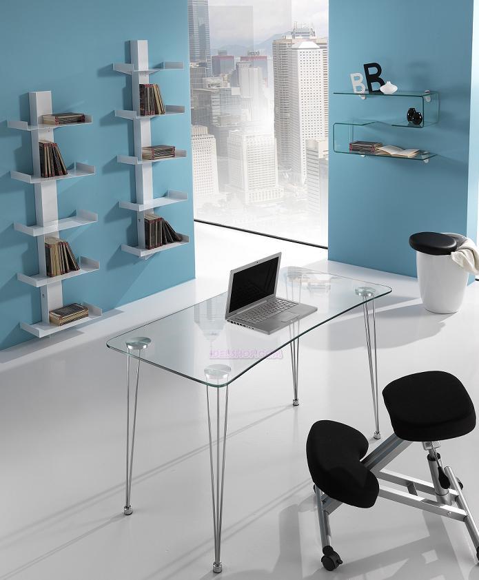 Libreria porta cd dvd bianca da muro con 5 ripiani - Lettore cd da parete ...