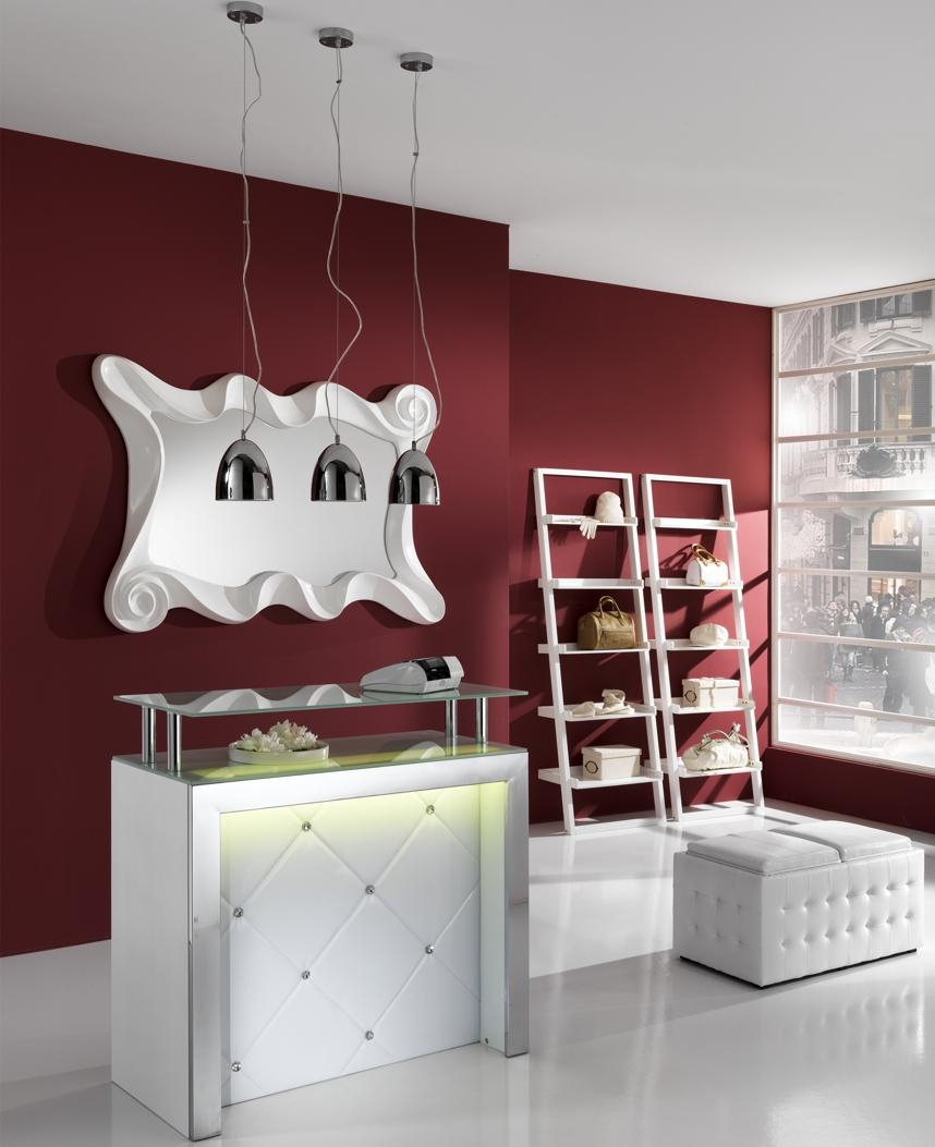 Mobile tavolo bar reception bancone con luce led ebay - Tavolo ribaltabile da parete leroy merlin ...