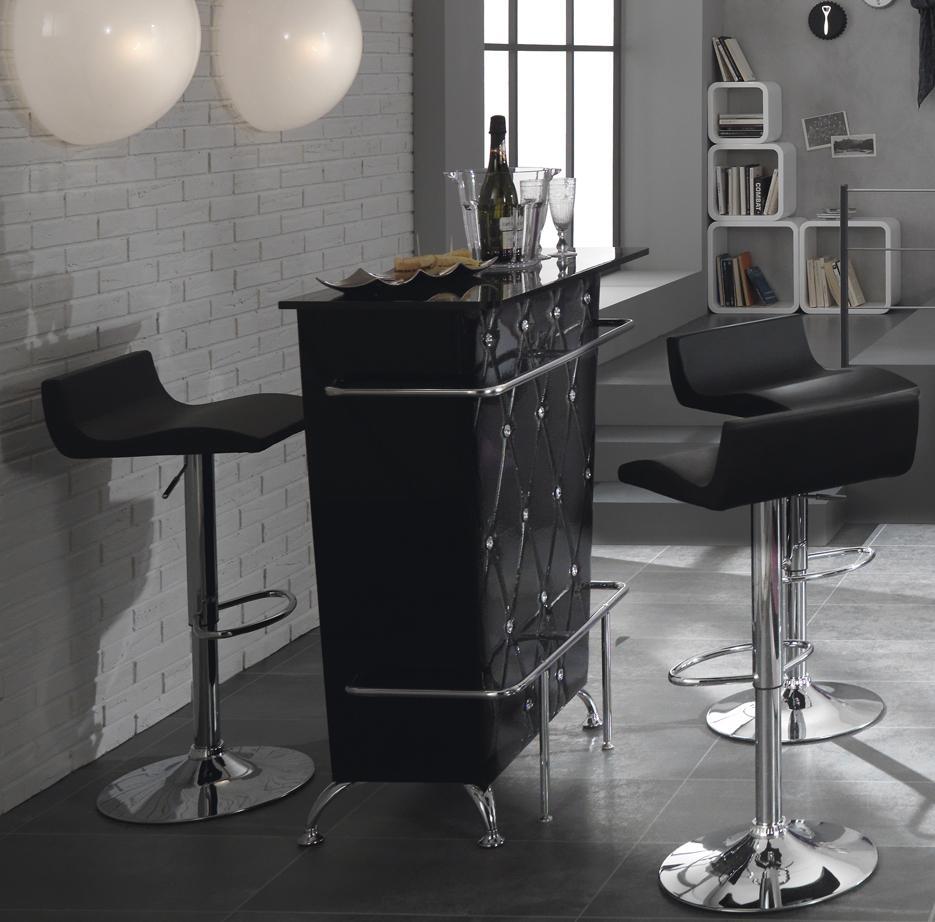 Mobile tavolo bar consolle bancone in vetro - Mobile bar moderno per casa ...
