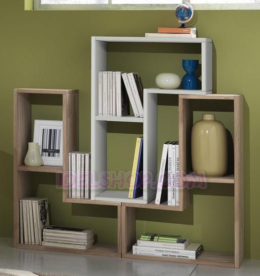 Modulo scaffale libreria in legno bianco a l ebay for Scaffale legno bianco