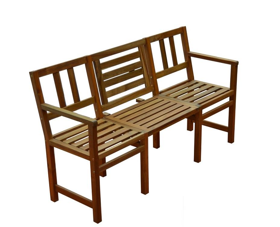 Panchine Da Giardino In Legno : Panchina da giardino in legno di acacia 3 posti