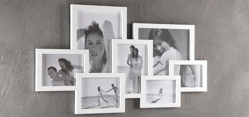 Portafoto da muro in legno massello - Portafoto da tavolo ...