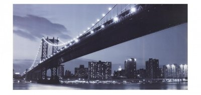 Quadro Stampa Bridge Brooklyn Misure Maxi