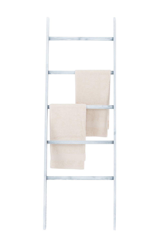 Asciugamani Per Il Bagno.Scaletta Porta Asciugamani Da Bagno O Spogliatoio Legno Grigio