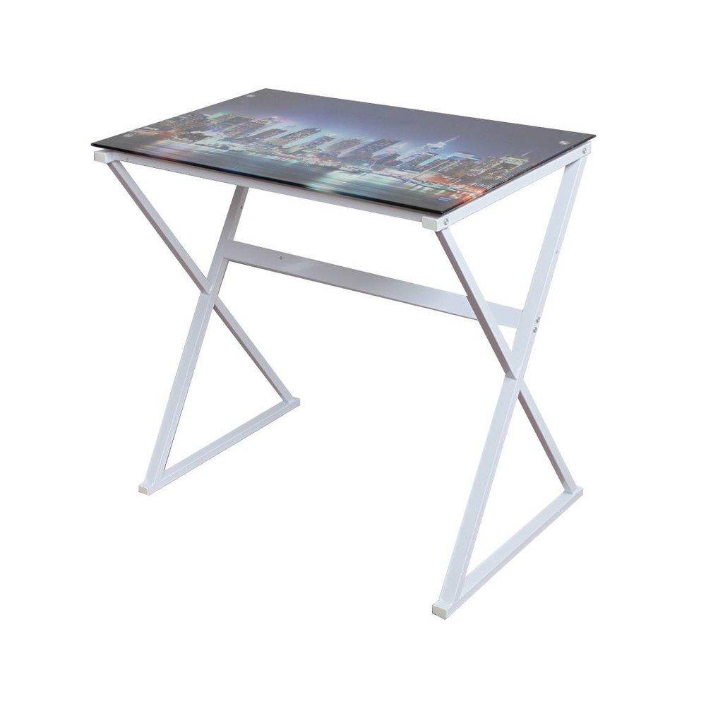 Scrivania scrittoio tavolo porta pc new york ebay - Tavolo porta pc ...