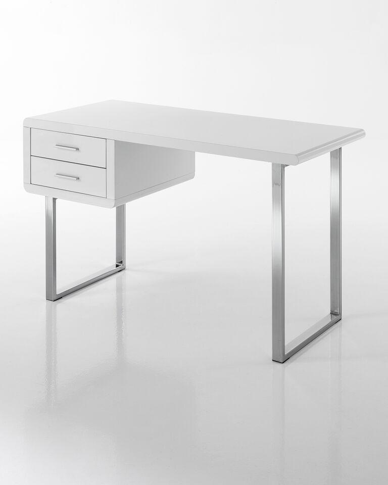 Scrivania scrittoio tavolo da lavoro con cassetti - Tavolo computer ikea ...
