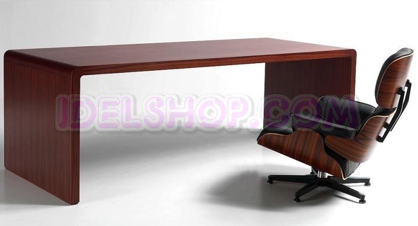 Scrivania Ufficio Legno Massello : Scrivania in legno massello di palissandro