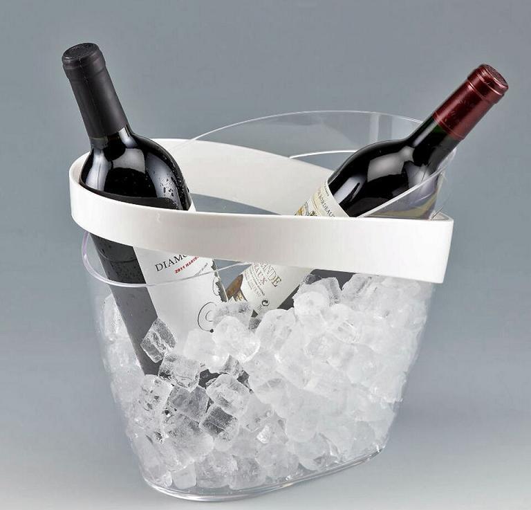 Secchio secchiello porta ghiaccio portabottiglie - Cestelli porta ghiaccio ...