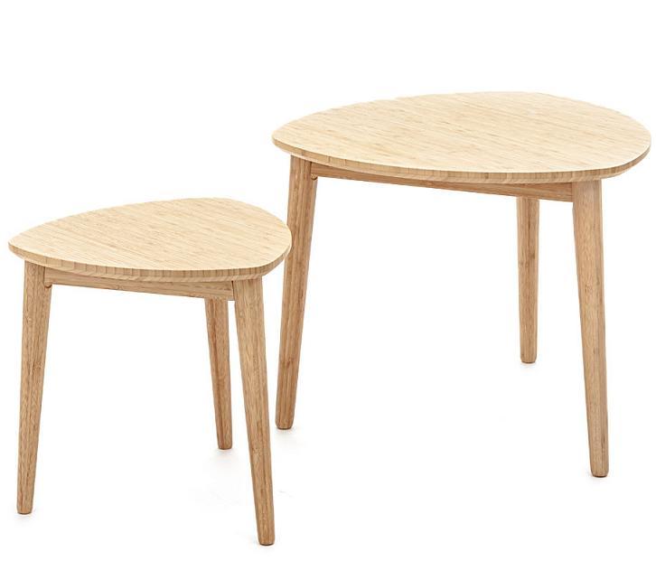 tavolino da salotto vetro e legno : Tavolino da Salotto in Vetro e Piede in Legno