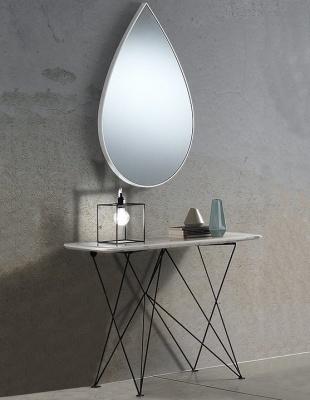 Consolle Ingresso Specchio.Set Da Ingresso Consolle E Specchio A Goccia