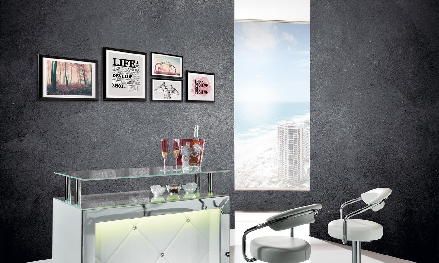 Quadri Per Bagno Moderno set di 5 quadri arredo moderno con cornice varie misure