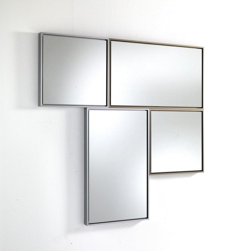 Specchi da parete varie misure e colori per composizioni - Colori da parete ...