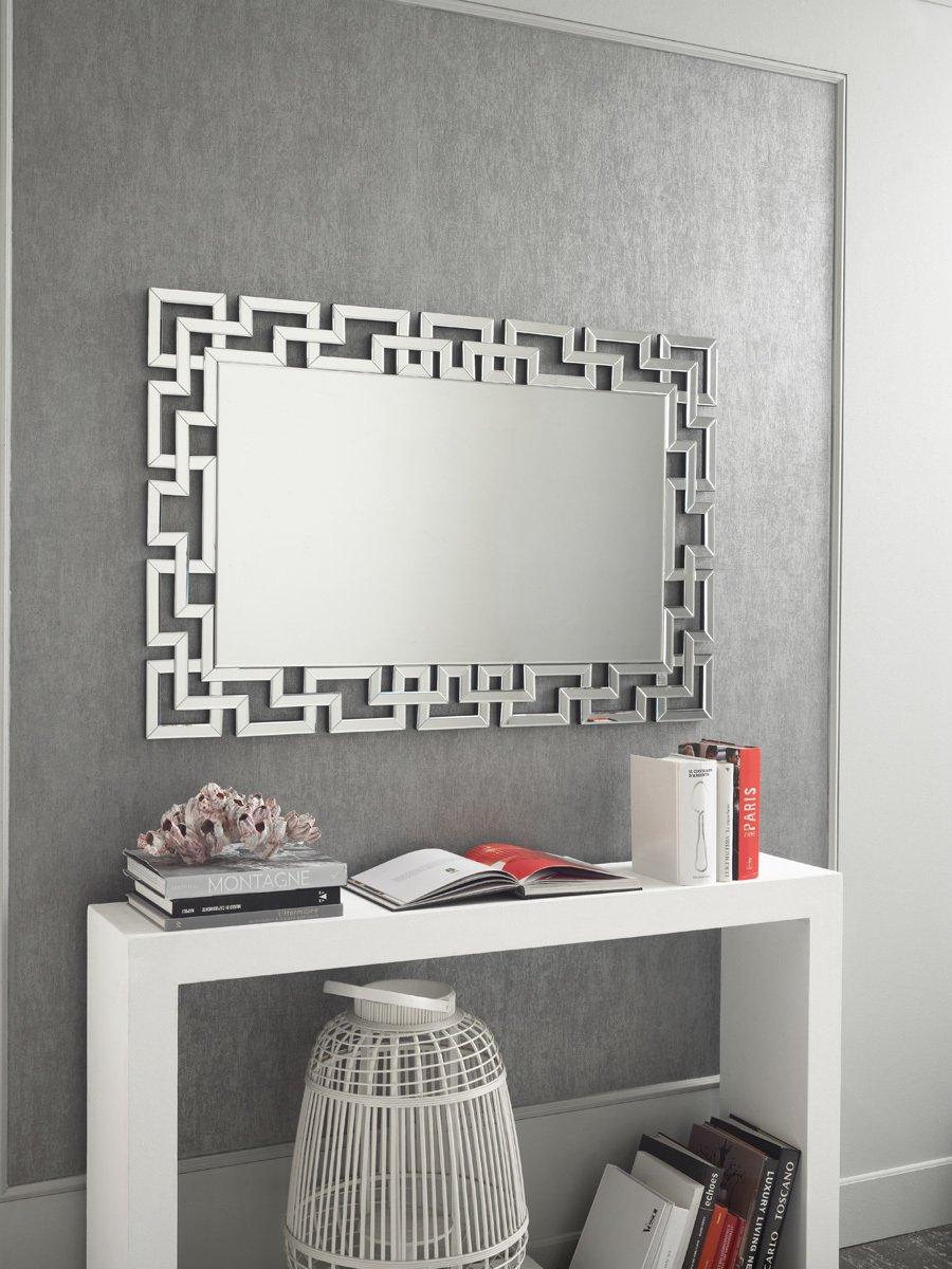 Specchio Moderno Lavorato da Muro Maxi