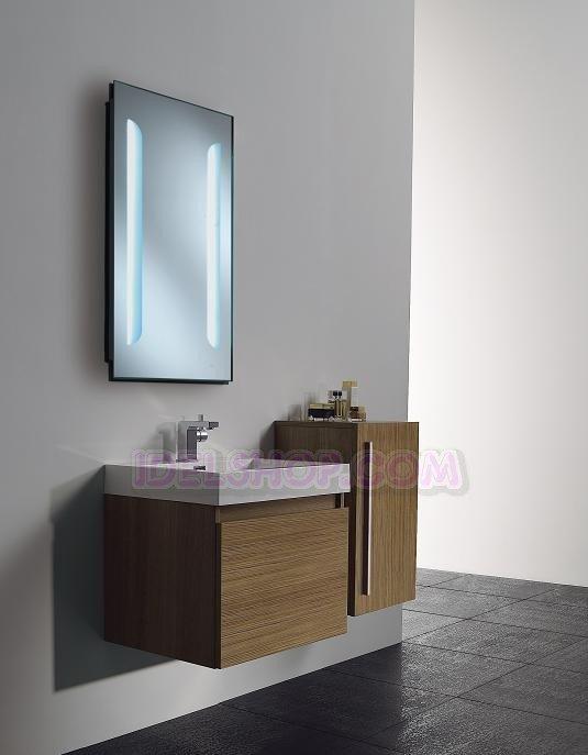 Bagno con led la scelta giusta variata sul design for Specchio bagno profilo alluminio