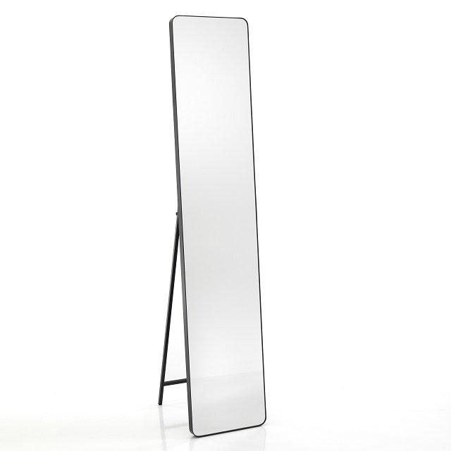 Appendiabiti A Specchio Da Parete.Specchio Rettangolare Da Terra Muro Con Appendiabiti