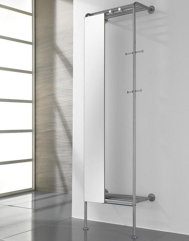 Stender ingresso entratina appendiabiti e specchio ebay - Appendi specchio ...