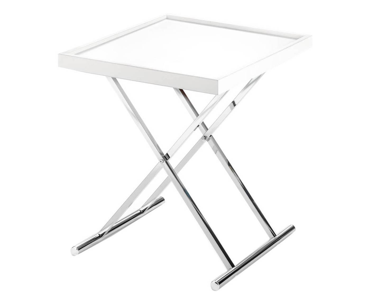 Tavolino Con Vassoio.Tavolino Comodino Moderno Con Vassoio Estraibile