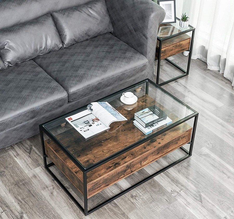 retr/ò Industrial vento decorazione camera da letto tavolino da salotto tavolino da tavolo tavolo da lavoro tavolo ufficio tempo libero lettura tavolo negoziare mobili da tavolo,Blue Creativo tavolino