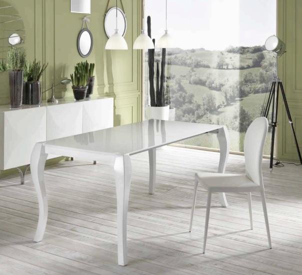 tavolo impero laccato bianco allungabile fino a 288 cm ebay