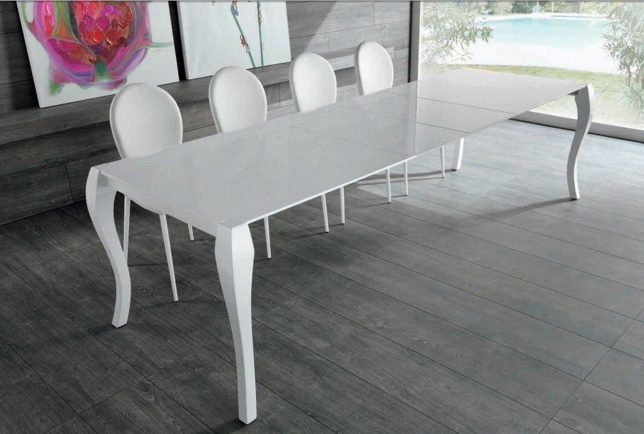 Beautiful Tavolo Bianco Allungabile Ideas - Amazing House Design ...