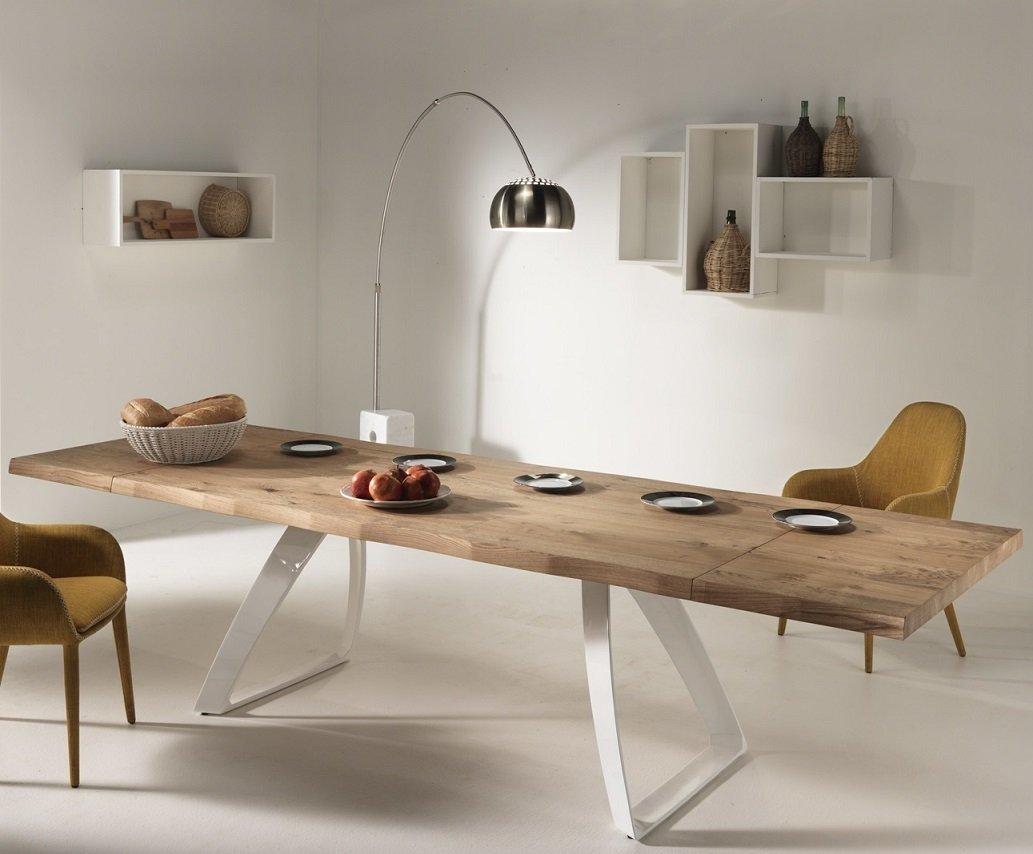 Beautiful tavolo da soggiorno allungabile images idee for Tavola da pranzo allungabile