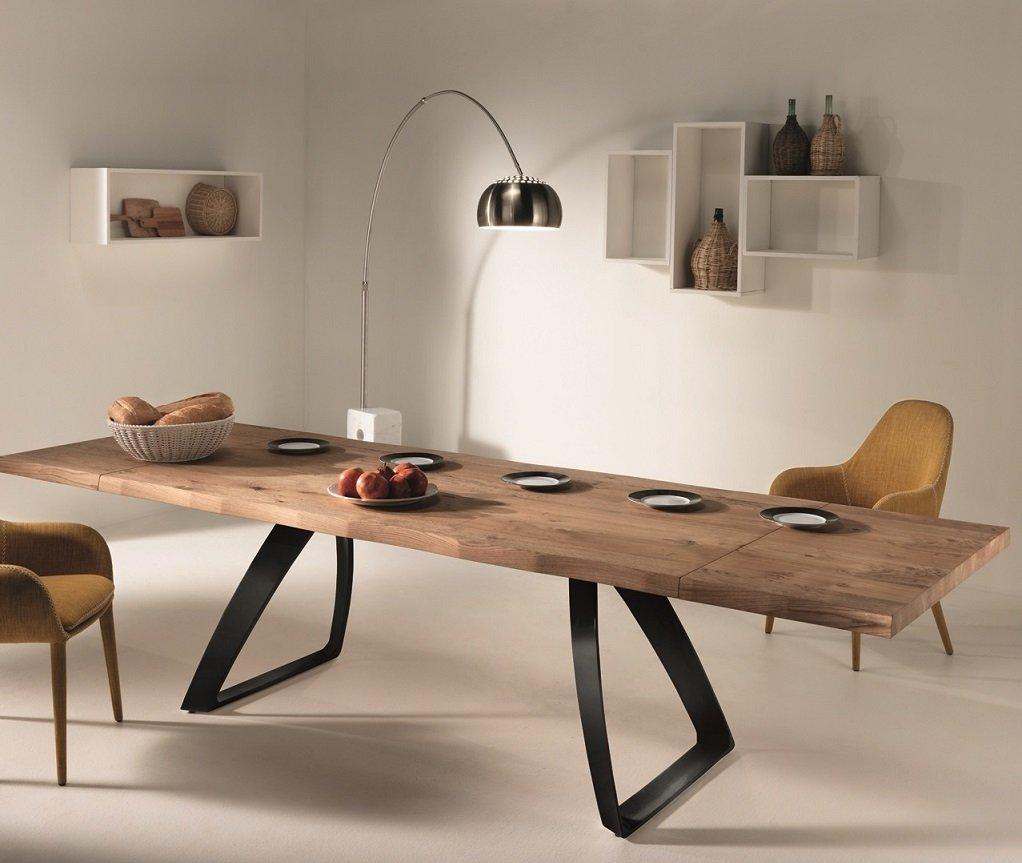 Stunning tavolo da cucina allungabile images for Tavolo da pranzo legno